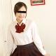 和登こころ 制服時代 〜スカートが短くて恥かしい〜
