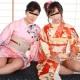 山田まき 小坂麗子 艶やかな着物姿で4P乱交 〜平成の女と昭和の女〜