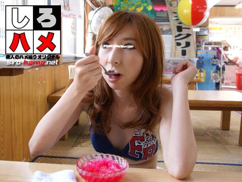 素人 ようこ:超・美乳ギャルビキニでハメ撮り!【Hey動画:しろハメ】