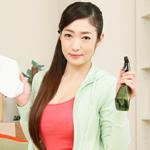 江波りゅう ピタパン美巨尻家政婦の年末大掃除