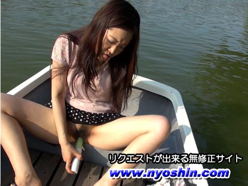 いおり - こんなトコでオナっちゃった~池のボート~ エロAV動画 Hey動画サンプル無修正動画