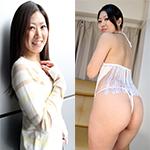 奈央 エロい美尻熟女のディルドオナニー!! 奈央 38歳