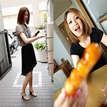 瑠依 ハーフ系美人妻のディルドオナニーからのスマタと手コキでドピュっ!! 瑠依 31歳