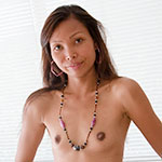 Gon My turn to bust a wad deep inside her bald Asian pussy