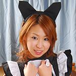 小春 美巨乳メイドのH奉仕