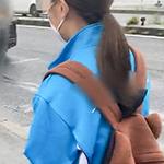 JC ゆな 『個人撮影 削除注意』ぐ〜かわロリロリJC2ゆなちゃんの恥じらいフェラ!!