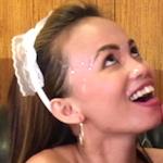 Karen Skinny Asian House Cleaner Bangs Boss For Money